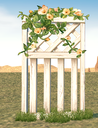 Mabinogi Homestead Secret Garden Simple Fence