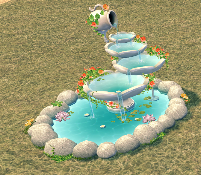 Mabinogi Homestead Secret Garden Hidden Spring