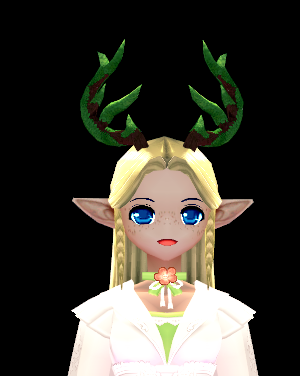 Mabinogi Greenish Reindeer Horn Headband