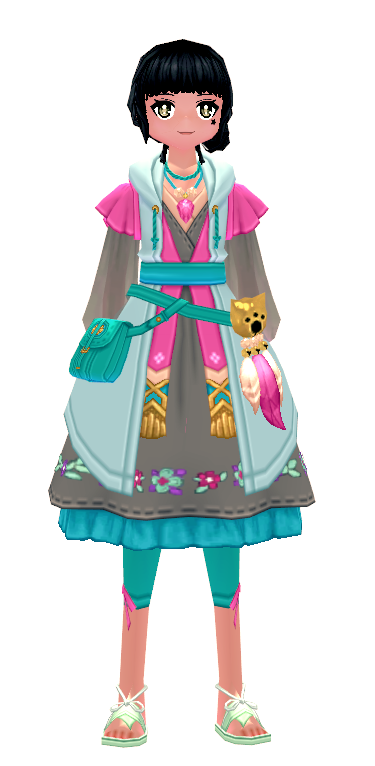 Mabinogi Pinkie Outfit (F)
