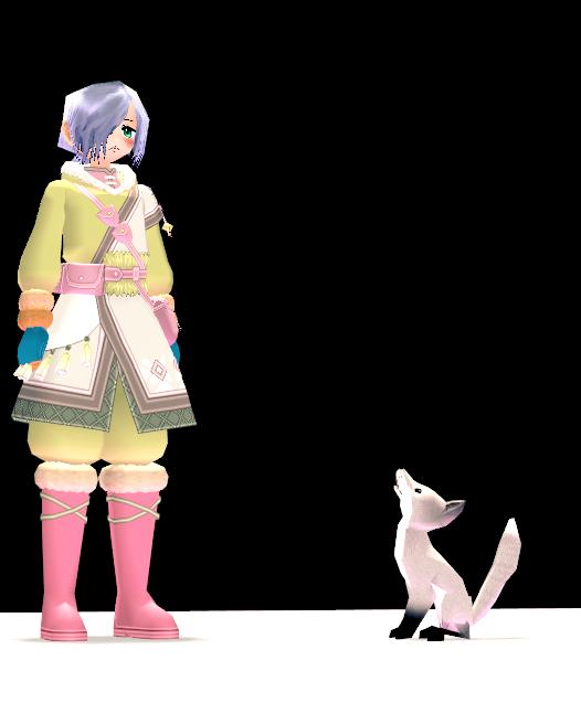 Mabinogi Small Silver Fox