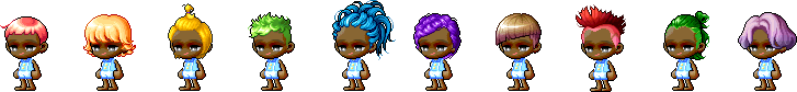 MapleStory July 22 Male Choice Hair