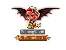 MapleStory MMORPG Rise Surge of Power Burning World