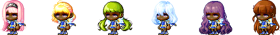 MapleStory July 22 Cash Shop Update Female Royal Hairstyles