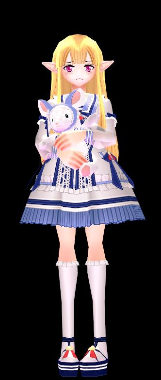 Mabinogi Baby Chinchilla Doll