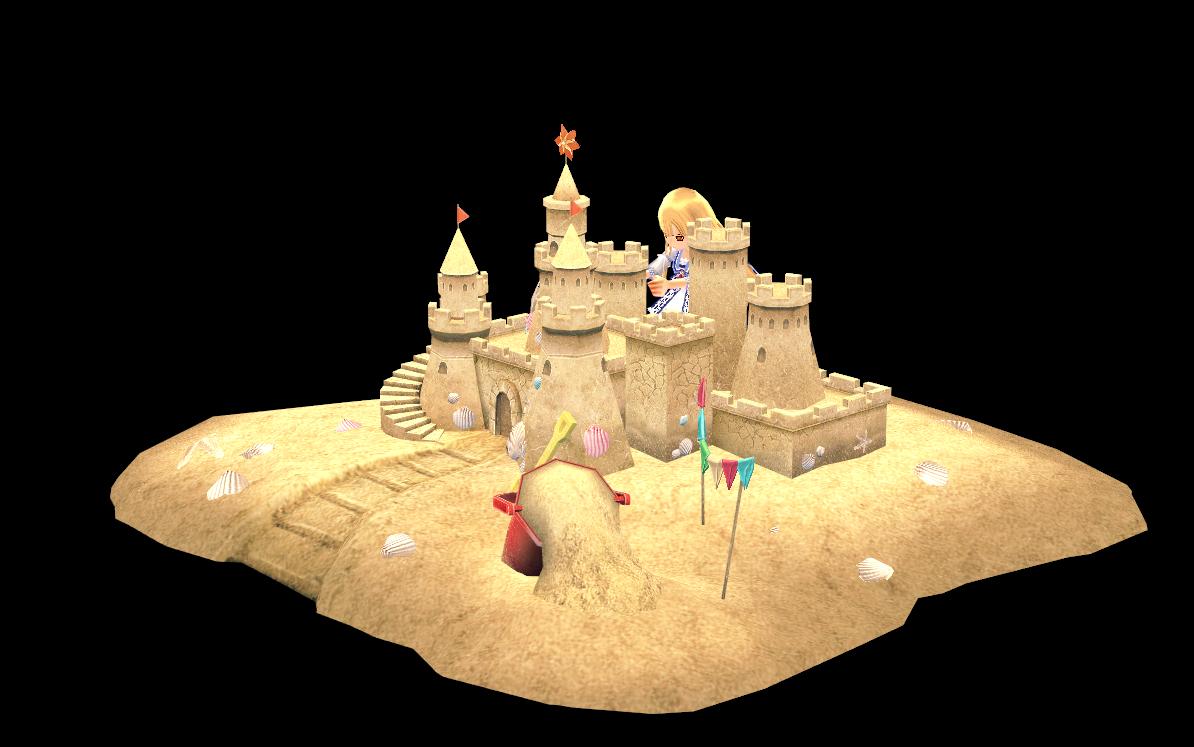Mabinogi Fancy Sand Castle (for 2)