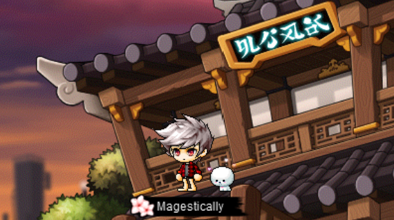 MapleStory Character
