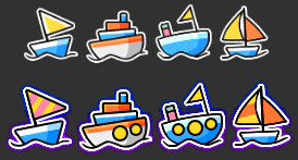 MapleStory August 5 Cash Shop Update Chug Boat Damage Skin Icon