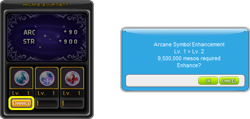 Level-Up Arcane Symbol