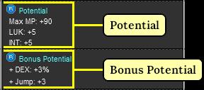 MapleStory Potential and Bonus Potential