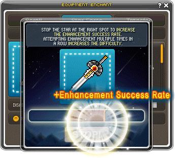 MapleStory Star Catching Minigame