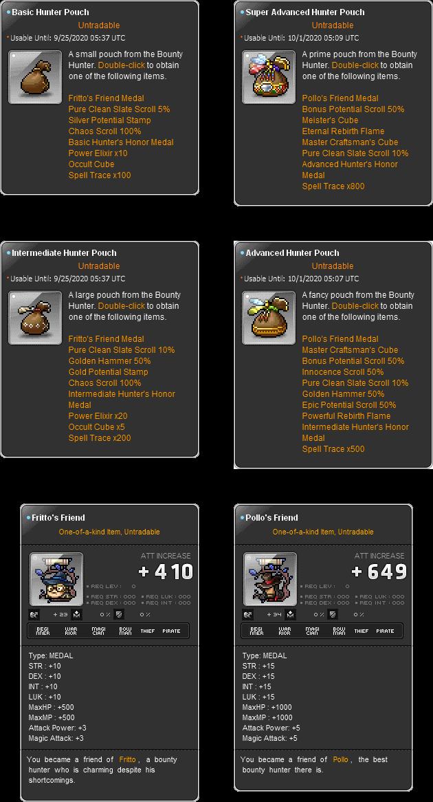 MapleStory Random Portal Rewards