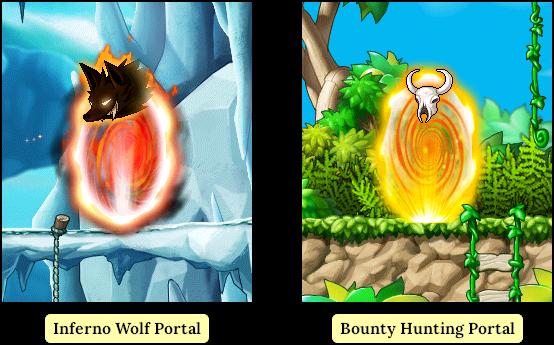 MapleStory Types of Random Portals