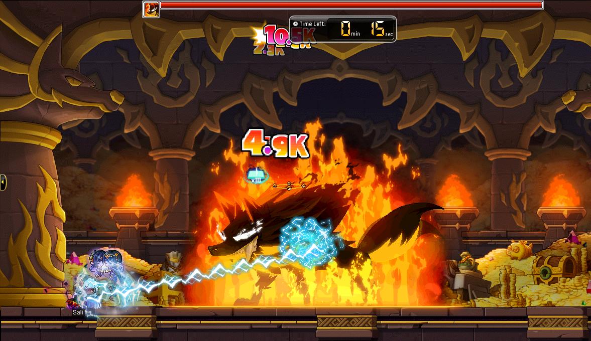 MapleStory Inferno Wolf's Den