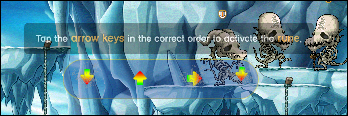 MapleStory Activating the Rune