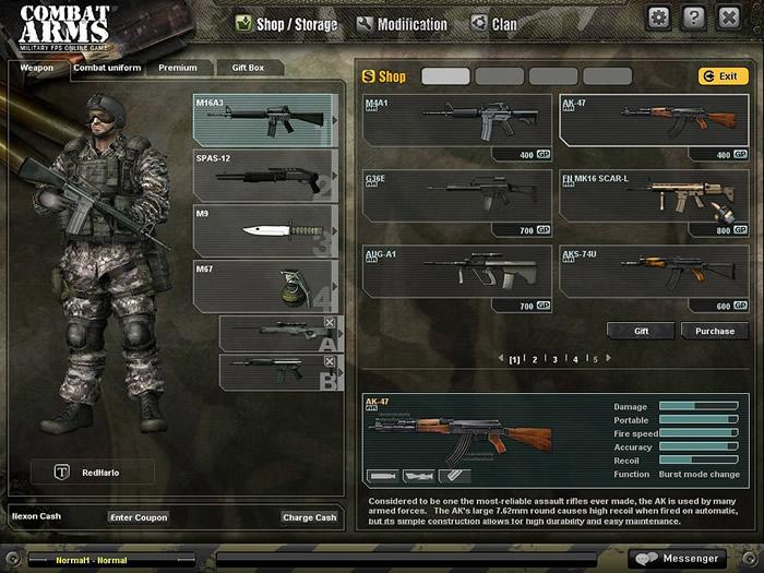 Combat Arms FULL بحجم600ميجا