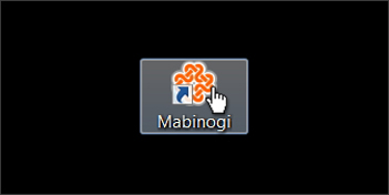 Mabinogi start game guide for Nexon client