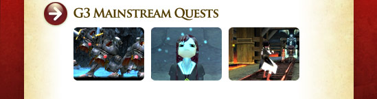 G3 Mainstream Quests