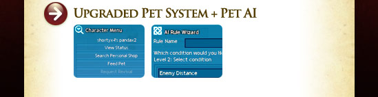 Upgraded Pet System + Pet AI