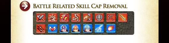 Battle Related Skill Cap Removal