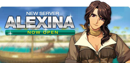 New Server Alexina Now Open!