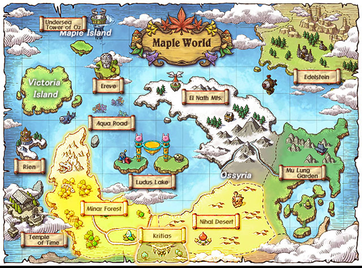 Explore the world of maplestory explore the world of maple story publicscrutiny Gallery