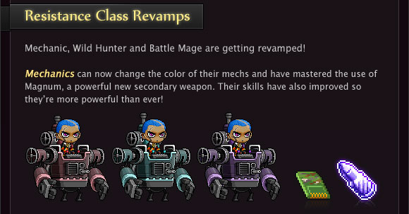 Resistance Class Revamps