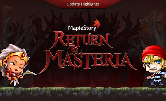 MapleStory Masteria Patch