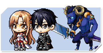 MapleStory meets SAO