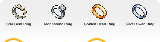 Stunning wedding rings Maplestory wedding rings effect