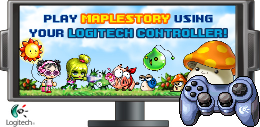 playing maplestory with a controller