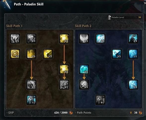 Dark Knight Skill Build Vindictus