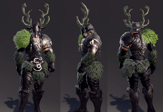 Request Vindictus Kai Naturewalker Armor Set Skyrim Non