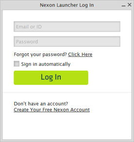 how to create a account in dragon nest