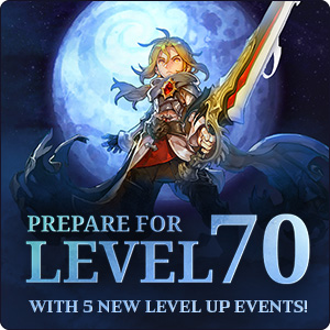 Level 70 Teaser Events