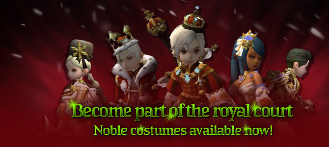 Noble Costume Sets