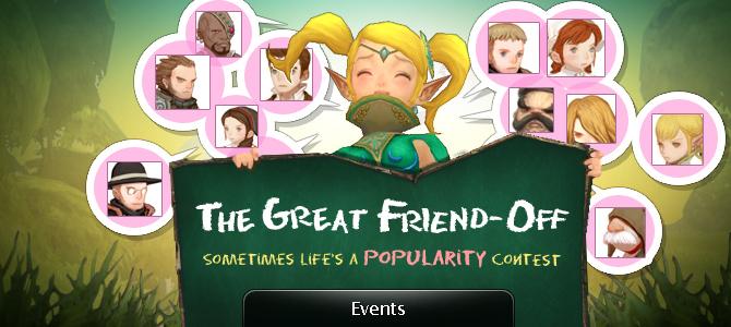 Great Friend-Off 4/8 - 4/21