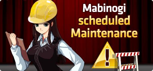 Mabinogi Scheduled Maintenance (01/18/12) 00DW3-3d8fa793-2d29-483e-9bd0-53ef1256967d