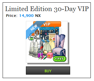 Limited Edition 30-Day VIP