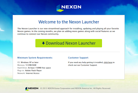Important reminder maplestory browser launch ending aug for Nexon client