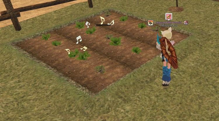 Dancing crops