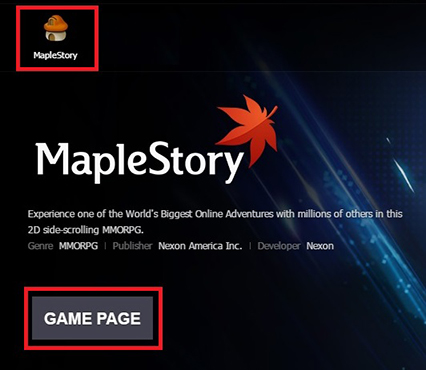 maple story download