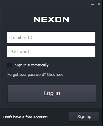nexon launcher game already downloaded