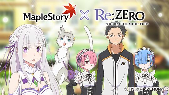 MapleStory X Re:ZERO Trailer
