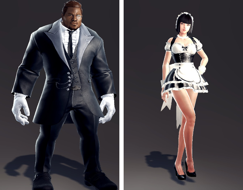 Butler Outfits