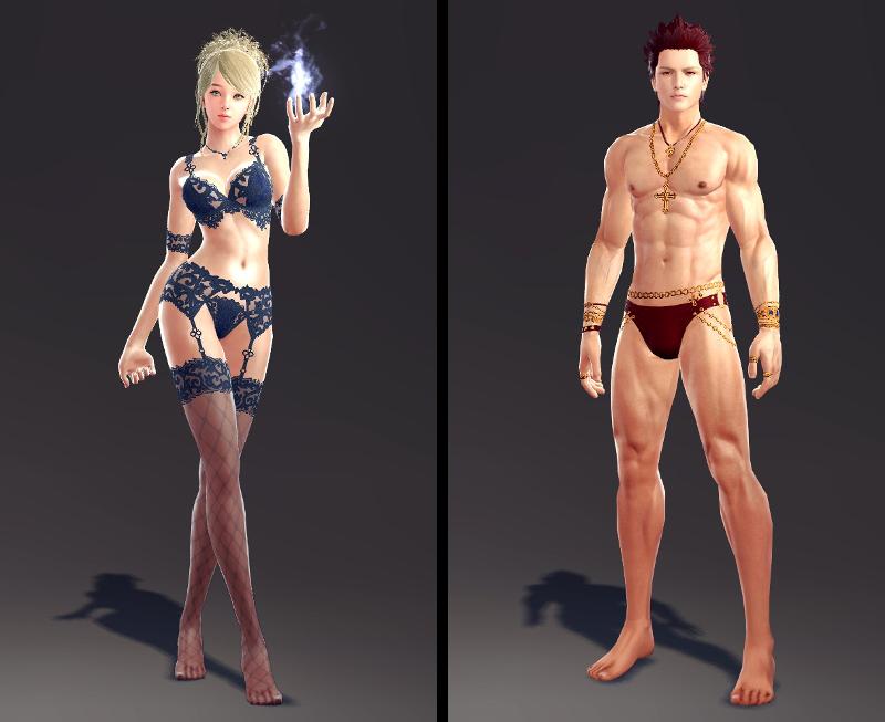 Tera Online Underwear Slot