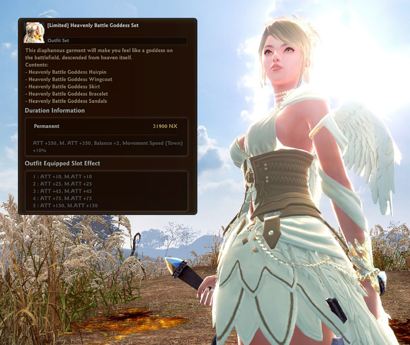 The Pure White And Gold Of This Outfit May Stand In Stark Contrast To New Corruption Seeping Into World Vindictus But There Still Must Be Some