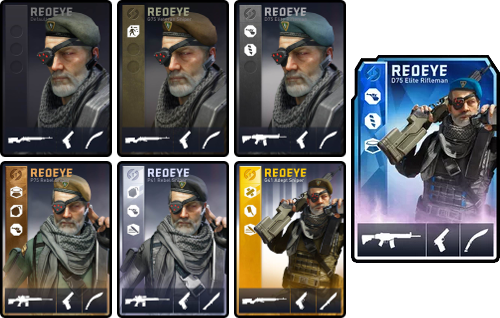 Redeye Loadout Cards