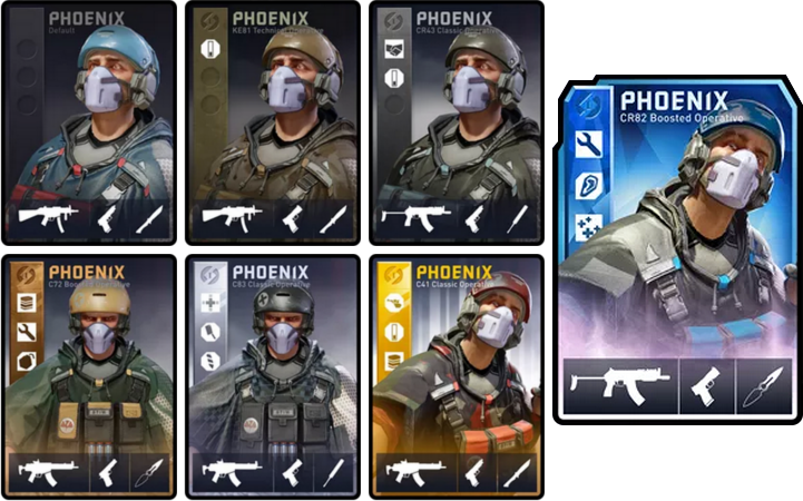 dirty bomb how to use loadout cards