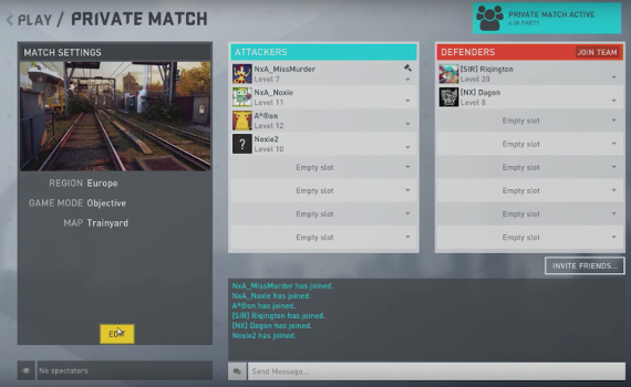 Private Matches